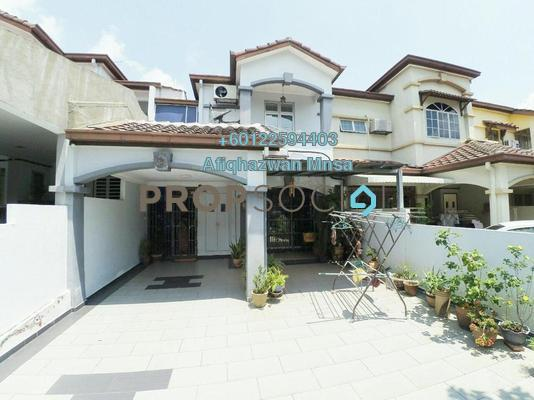 Terrace For Sale in USJ 18, UEP Subang Jaya Freehold Semi Furnished 4R/3B 850k