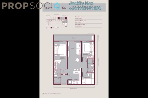 Condominium For Sale in Emporis, Kota Damansara Freehold Semi Furnished 3R/2B 650k