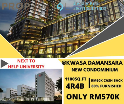 Condominium For Sale in Nadayu 801, Subang Freehold Fully Furnished 4R/3B 680k