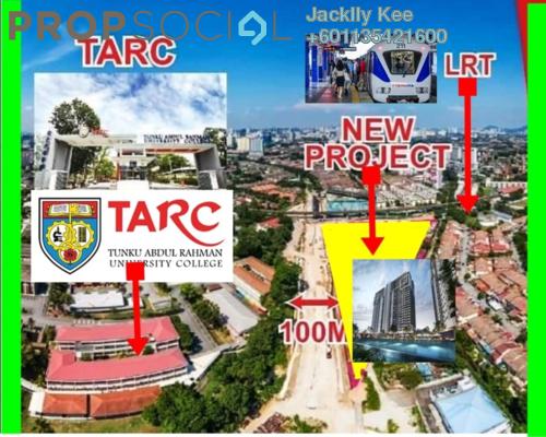 Condominium For Sale in PV9 Residences, Setapak Freehold Semi Furnished 3R/2B 505k