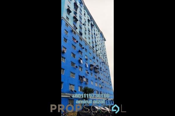 Apartment For Sale in Sri Rakyat Apartment, Bukit Jalil Freehold Semi Furnished 3R/2B 230k