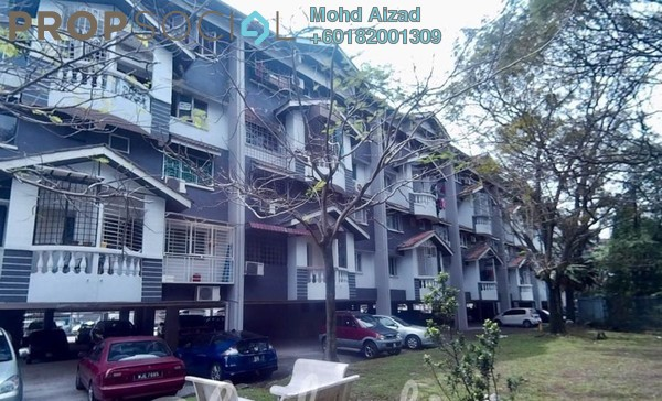 Duplex For Sale in Pandan Terrace Apartment, Pandan Perdana Leasehold Unfurnished 3R/2B 330k