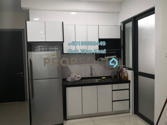 Condominium For Rent in KL Traders Square, Kuala Lumpur Freehold Semi Furnished 4R/2B 1.6k