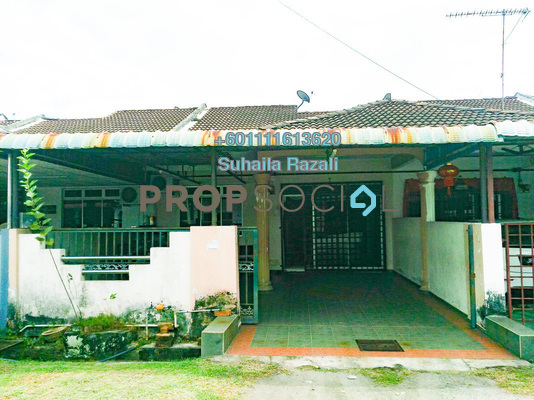 Terrace For Sale in Taman Perpaduan, Tambun Freehold Unfurnished 3R/2B 230k
