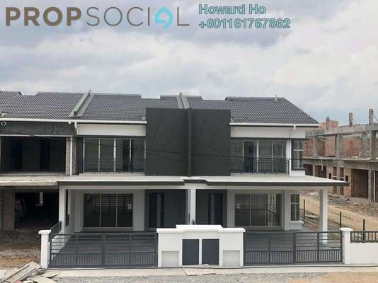 Terrace For Sale in Savanna Executive Suites, Southville City Freehold Semi Furnished 4R/4B 566k