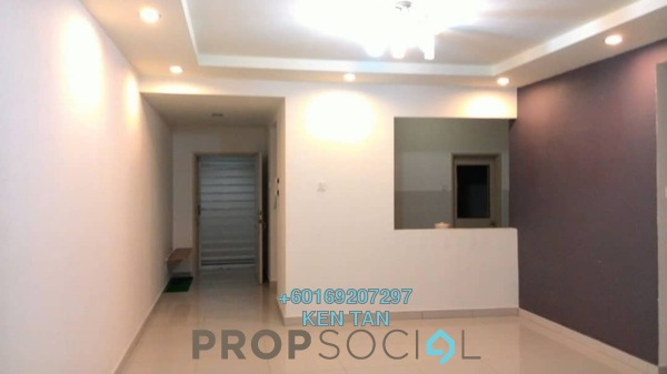 Condominium For Rent in Aman Heights, Seri Kembangan Freehold Semi Furnished 3R/2B 1.15k