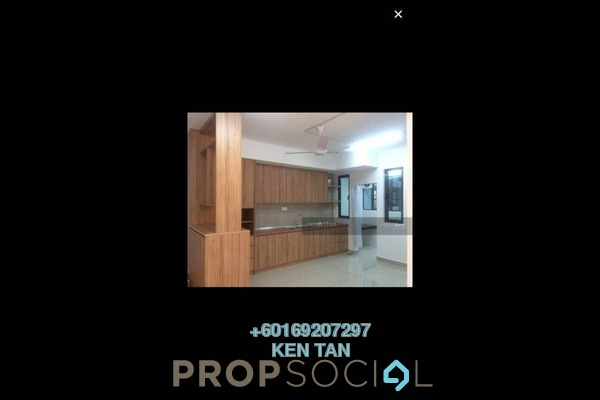 Condominium For Rent in KL Palace Court, Kuchai Lama Freehold Semi Furnished 3R/2B 2.1k