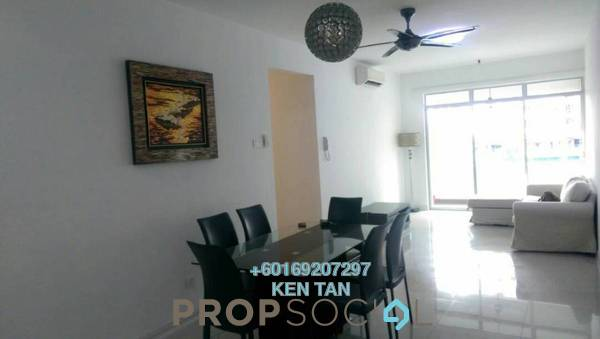 Condominium For Rent in Kiara Residence, Bukit Jalil Freehold Fully Furnished 3R/2B 2k