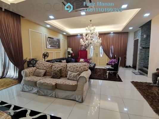 Semi-Detached For Sale in Taman Saujana Emas, Kajang Freehold Fully Furnished 6R/5B 1.3m