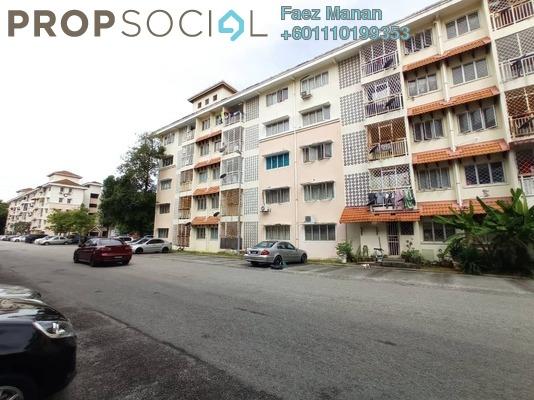 Apartment For Rent in Desa Mutiara Apartment, Mutiara Damansara Freehold Semi Furnished 3R/2B 1.2k