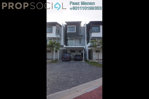 Terrace For Rent in Symphony Hills, Cyberjaya Freehold Fully Furnished 4R/4B 3.8k