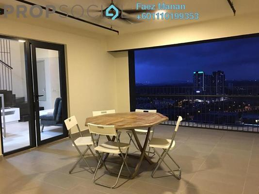 Duplex For Rent in Tamarind Suites, Cyberjaya Freehold Fully Furnished 2R/1B 1.8k