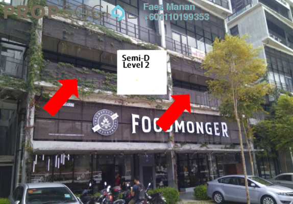 Shop For Rent in Tamarind Square, Cyberjaya Freehold Unfurnished 0R/2B 3.5k