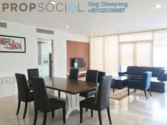 Condominium For Rent in K Residence, KLCC Freehold Fully Furnished 3R/4B 11k