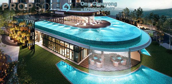 Condominium For Rent in Geo Bukit Rimau, Bukit Rimau Freehold Fully Furnished 3R/3B 2.5k