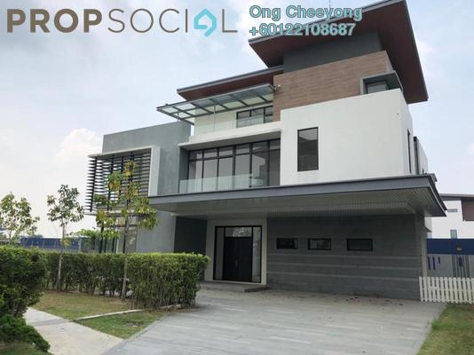 Bungalow For Sale in Long Branch Residences @ HomeTree, Kota Kemuning Leasehold Unfurnished 6R/7B 2.9m