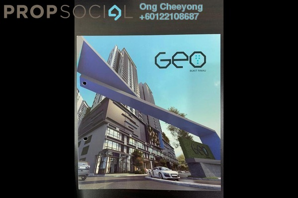 Condominium For Rent in Geo Bukit Rimau, Bukit Rimau Freehold Fully Furnished 3R/2B 2k