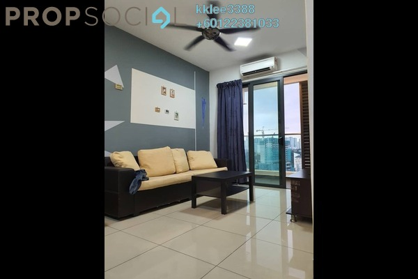 Condominium For Rent in KL Palace Court, Kuchai Lama Freehold Fully Furnished 2R/2B 1.65k