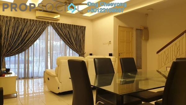Terrace For Rent in Kemuning Bayu , Kemuning Utama Freehold Fully Furnished 4R/4B 2.2k