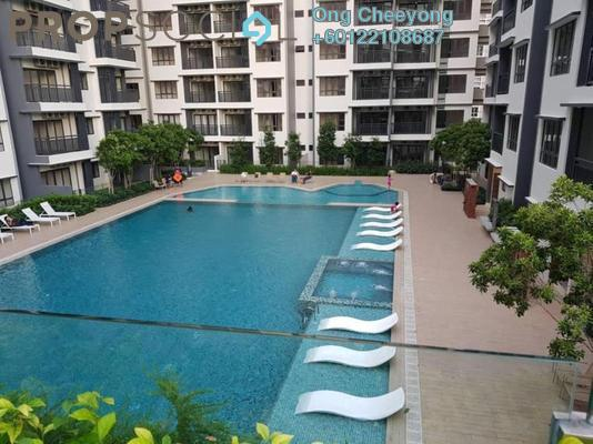 Condominium For Sale in Suria Residence, Bukit Jelutong Freehold Semi Furnished 2R/2B 650k