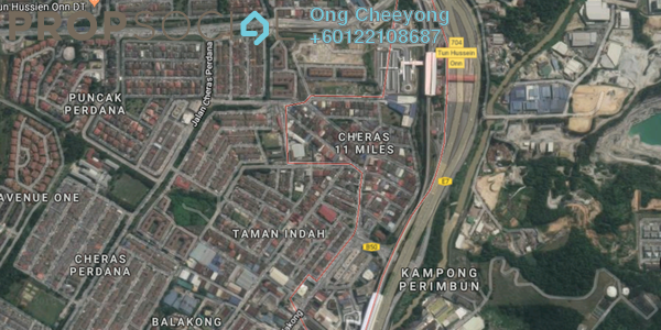 Land For Sale in Cheras Business Centre, Cheras Freehold Unfurnished 0R/0B 12.8m