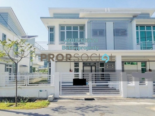 Semi-Detached For Sale in Royal Ivory, Bandar Saujana Putra Leasehold Semi Furnished 4R/4B 530k
