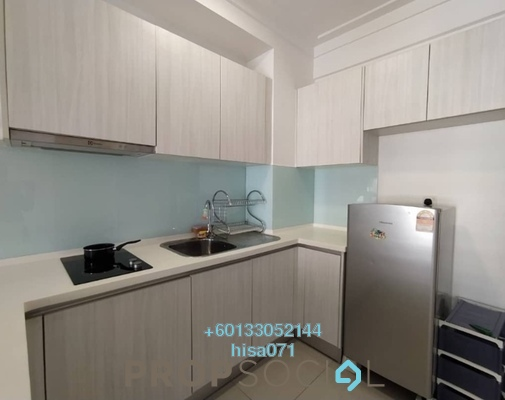 Condominium For Rent in Solstice @ Pan'gaea, Cyberjaya Freehold Fully Furnished 1R/1B 1.1k