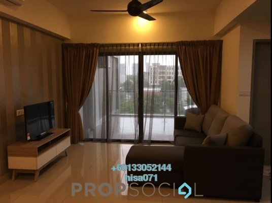Condominium For Rent in Hyve, Cyberjaya Freehold Fully Furnished 2R/1B 1.7k