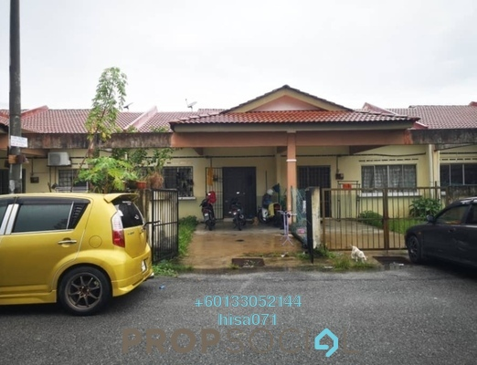 Terrace For Sale in Taman Langat Murni, Banting Leasehold Unfurnished 3R/2B 249k