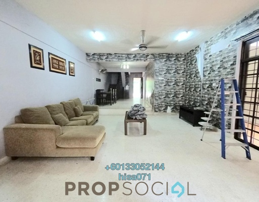 Terrace For Sale in Section 6, Shah Alam Leasehold Unfurnished 4R/3B 580k