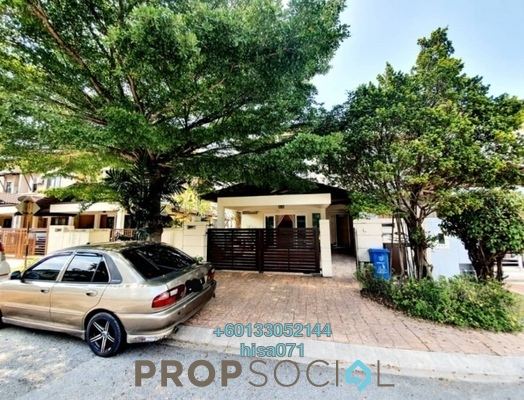 Terrace For Sale in Lagenda 1, Bukit Jelutong Freehold Fully Furnished 5R/4B 1.2m