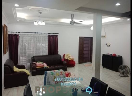 Terrace For Sale in Taman Nirwana, Ampang Leasehold Semi Furnished 4R/3B 740k