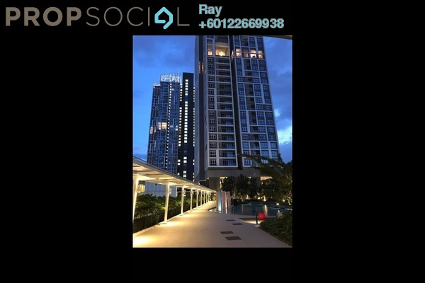 Serviced Residence For Sale in EcoSky Residence, Kuala Lumpur Freehold Fully Furnished 3R/2B 798k