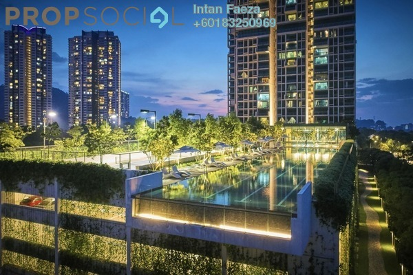 Condominium For Sale in One Central Park, Desa ParkCity Freehold Unfurnished 2R/3B 1.7m