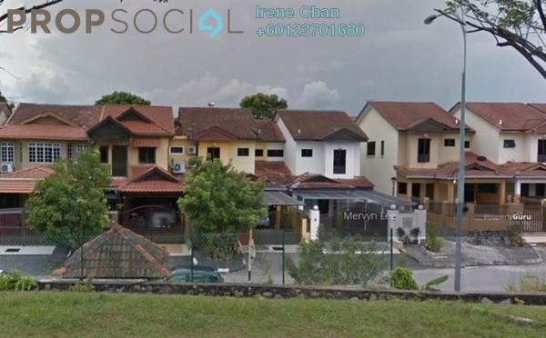 Terrace For Sale in Section 4, Bandar Mahkota Cheras Freehold Semi Furnished 4R/3B 720k