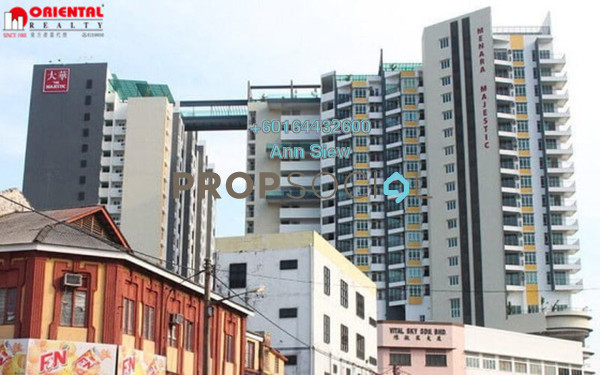 Condominium For Rent in The Majestic, Ipoh Freehold Fully Furnished 2R/2B 2.1k