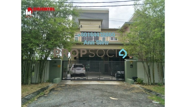 Bungalow For Sale in Meru Heights, Ipoh Leasehold Fully Furnished 5R/6B 1.9m