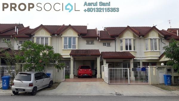 Terrace For Sale in Alam Nusantara, Setia Alam Freehold Semi Furnished 4R/3B 550k