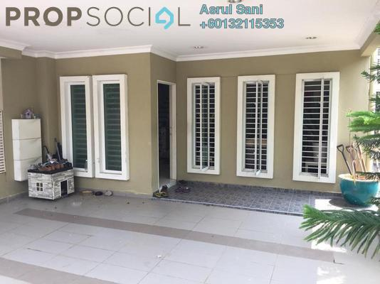 Terrace For Sale in Alam Nusantara, Setia Alam Freehold Semi Furnished 4R/4B 950k
