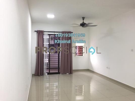 Apartment For Rent in Precinct 11, Putrajaya Freehold Semi Furnished 3R/2B 1.2k