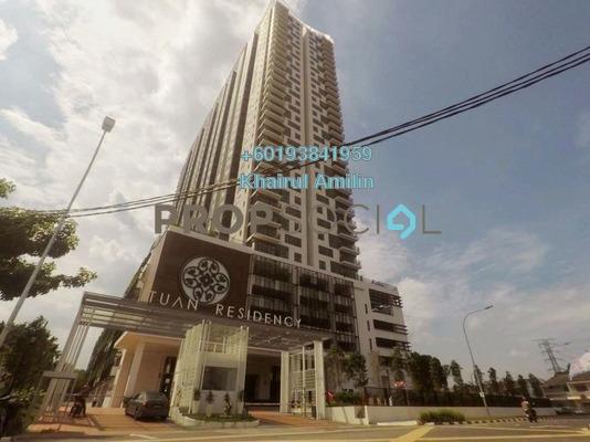 Condominium For Rent in Tuan Residency, Jalan Kuching Freehold Unfurnished 3R/2B 1.9k