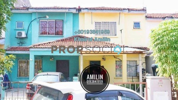 Terrace For Sale in Bandar Tasik Puteri, Rawang Freehold Unfurnished 3R/2B 290k