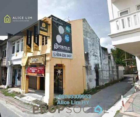 Shop For Rent in Jalan Perak, Georgetown Freehold Unfurnished 0R/0B 3.1k