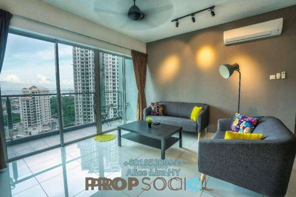Condominium For Sale in The Latitude, Tanjung Tokong Freehold Fully Furnished 3R/4B 835k