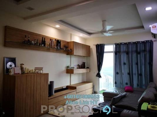 Condominium For Rent in Reflections, Sungai Ara Freehold Fully Furnished 3R/2B 2k