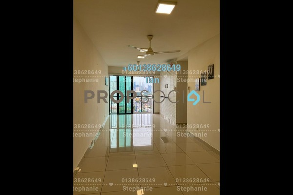 Serviced Residence For Rent in KL Traders Square, Kuala Lumpur Freehold Semi Furnished 3R/2B 1.2k
