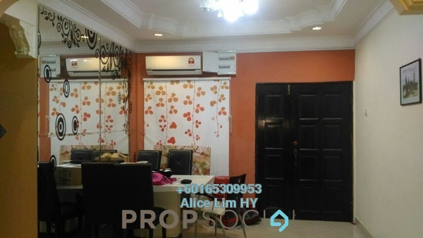 Condominium For Sale in Gambier Heights, Bukit Gambier Freehold Fully Furnished 3R/2B 395k