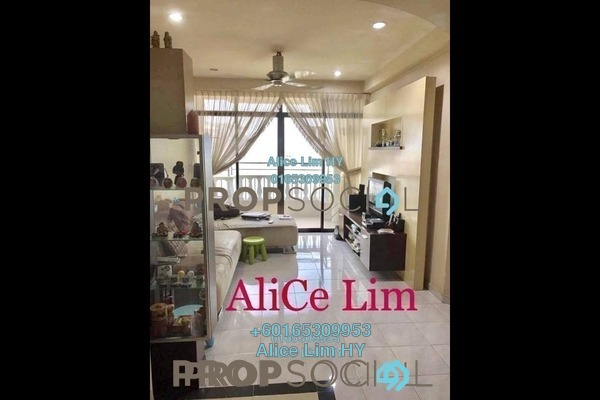 Condominium For Sale in Grand View, Tanjung Tokong Freehold Semi Furnished 3R/2B 570k
