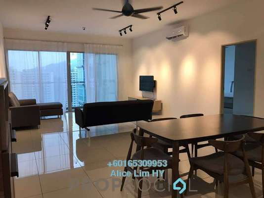 Condominium For Sale in The Latitude, Tanjung Tokong Freehold Fully Furnished 3R/3B 860k