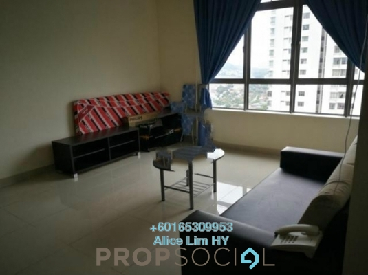 Condominium For Sale in All Seasons Park, Farlim Freehold Fully Furnished 3R/2B 620k